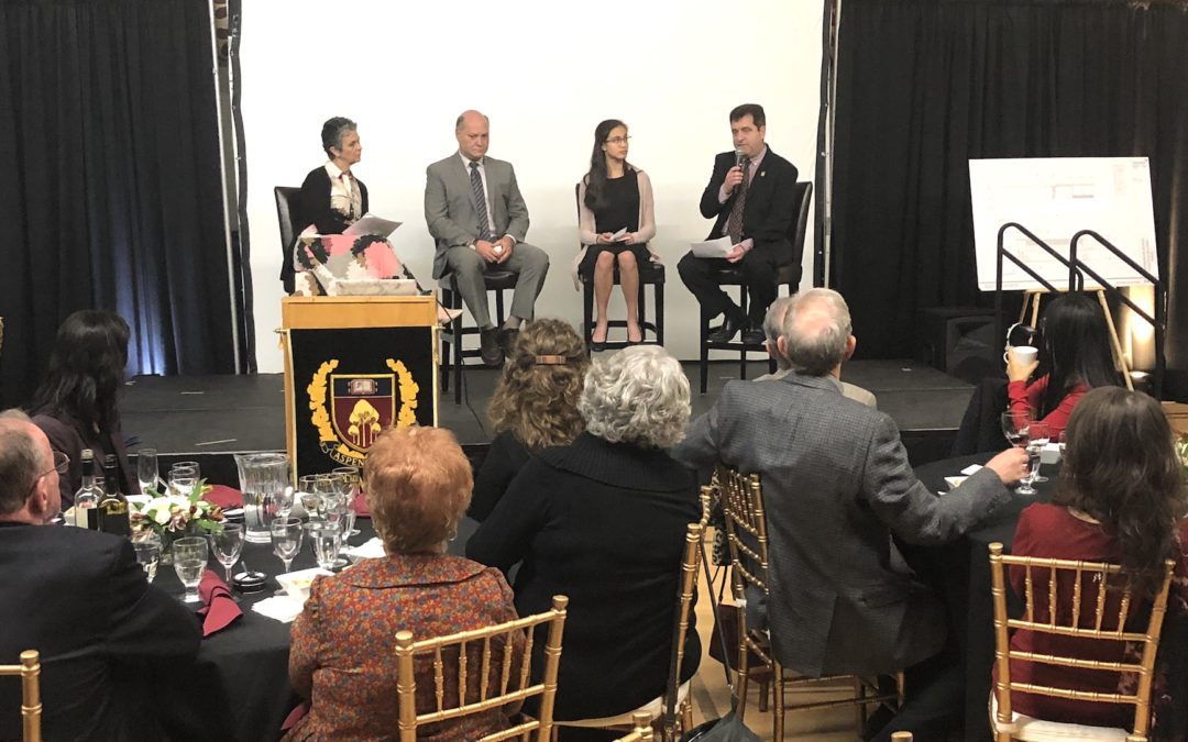 Building on Success Dinner Launches Campaign