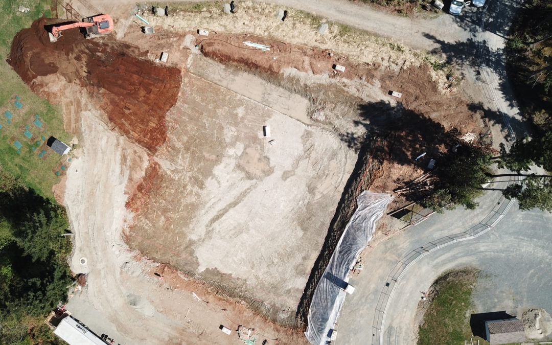 Detailed Excavation Nearing Completion